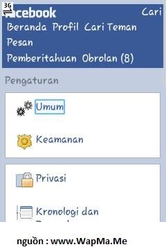 hướng dẫn đổi tên facebook 1 chữ bằng ucweb chi tiết